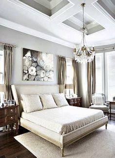 Casinha colorida: Inspiração do dia: quartos elegantes