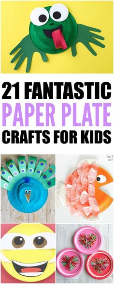 These paper plate crafts are perfect for the little ones in your classroom. There is enough paper plate projects and activities in this roundup to complete a whole year of lesson plans. Thes…