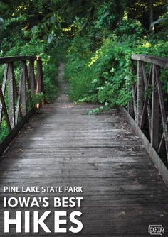 Iowas Best Hikes: Pine Lake State Park | Iowa DNR