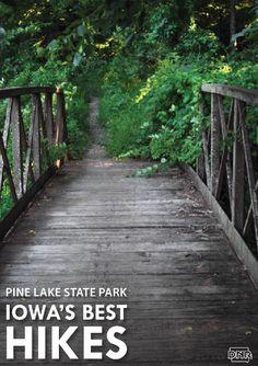 Iowa's Best Hikes: Pine Lake State Park | Iowa DNR