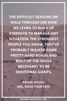 "Inspirational quotes from the popular book, ""Girl, Wash Your Face,"" by Rache… – My CMS Quotes About Self Care, Quotes About Self Worth, Self Quotes, Quotes About Dads, Quotes About Women, Dream Quotes, Girl Quotes, Woman Quotes, Book Quotes"