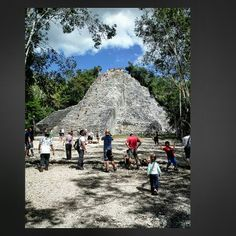 Piramide Maya di Cobà