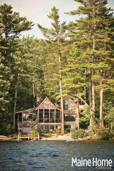 .oh, my!  this reminds me so much of the cabin we had in Blue Hill, Maine when I was a little girl!  dreams live on...