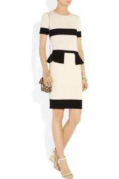 Giambattista Valli dress, Eddie Borgo bracelets, Philippe Audibert bracelets, Valentino bag, Bottega Veneta shoes