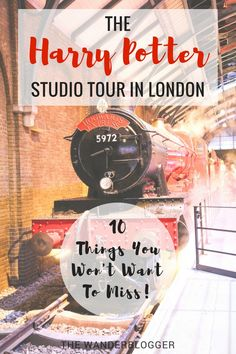 The Harry Potter Studio Tour In London: 10 Things To Do & See