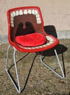 Dentist's upcycled waiting room chair
