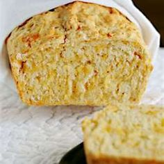Bread Machine - Cheddar Cheese Bread