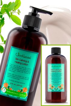 Skin Calming Lotion | Tanning Skin Helpers | Just Nutritive
