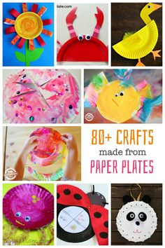 Paper plate crafts x