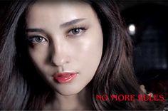KATE by kanebo (Cosmetics company). Meisa Kuroki (Japanese actress). Romantic Beauty. Gothictic make up. Neo Gothic girl.