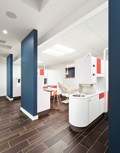 Attrayant Flooring Wall Color Little Britches Pediatric Dentistry   Dental Office  Design By JoeArchitect In Longmont,