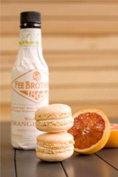 Blood orange macarons . . . sign us up!