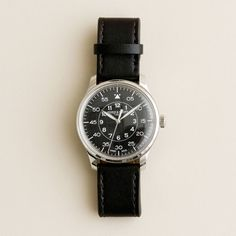 Mougin & Piquard for J.Crew Grande Seconde Watch. The folks at J.Crew teamed up with renowned timepiece makers Tourneau to revive a little-known Swiss watchmaker, Mougin & Piquard. Inspired by sketches from Mougin & Piquard's archives and antique watches from J. Crew's own collection, they kept things sleek, sharp, and sturdy with a vintage feel. $425