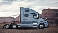 The dramatic new exterior design of the Volvo VNL truck model introduces enhanced airflow and driver visibility Kenworth Trucks, Volvo Trucks, Big Rig Trucks, Semi Trucks, Customised Trucks, Hot Black Women, Trucks And Girls, Commercial Vehicle, Cool Cars
