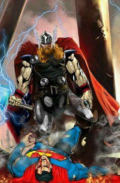 Asgardian vs Kryptonian
