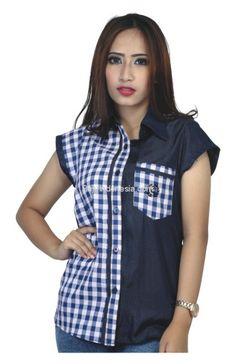 Kemeja wanita RRK 008 adalah kemeja wanita yang nyaman untuk...