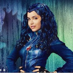 "Sofia Carson staring in Disneys ""Descendants"" as evie. she will do great!"
