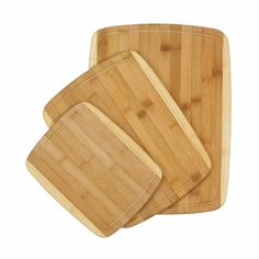 A size of cutting board for every purpose with the Bamboo Cutting Boards Trio at www.thewineboxessentials.com
