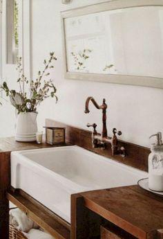 04 Amazing Farmhouse Bathroom Remodel Decor Ideas