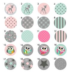 Childrens KIDS Painted Drawer Pulls Knobs - You choose the design ...