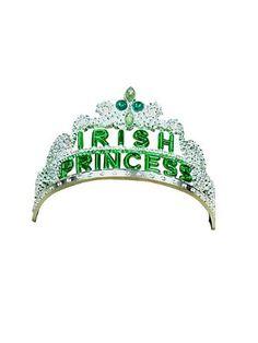 Irish St. Patricks Day Princess Tiara Ireland
