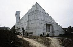 Versöhnungskirche (1966-67) in Detmold, Germany, by Lothar Kallmeyer