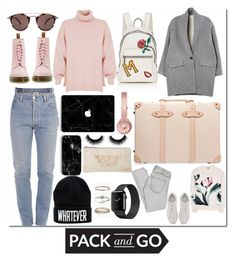 """""""Winter"""" by anotherdirectioner12 ❤ liked on Polyvore featuring Marc Jacobs, Vetements, TIBI, Dr. Martens, Isabel Marant, Globe-Trotter, Burberry, Fendi, Beats by Dr. Dre and Oliver Peoples"""