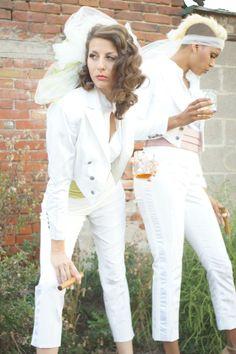 lesbian wedding dress