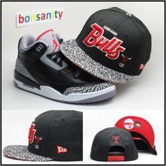 new era hats miami marlins,new era caps shopping , Air-Jordan-3-Cements-Snapback (1)  US$6.5 - www.hats-malls.com