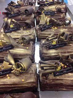 Funky Chocolate logs