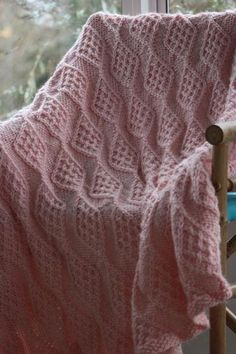 Some Days Are Diamonds Blanket - Knitting Patterns and Crochet Patterns from KnitPicks.com