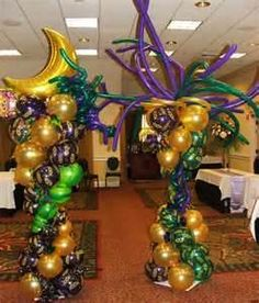 Image Search Results for mardi gras theme party decorations