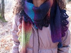 Free Pattern: Lucy's crescent scarf by lucysusy grace
