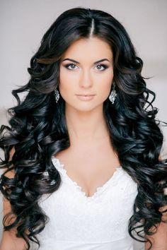 Feminine Bridal Hair On Pinterest Bridal Hair Wedding Hairs Intended For Black Hairstyles For Wedding