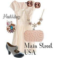 """Holiday 2013: Main Street USA"" by disneydiva305 on Polyvore #disney"