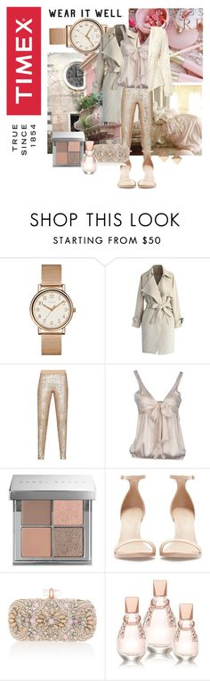 """""""Timex Contest Entry: How will you #WearItWell this holiday season?"""" by cnle ❤ liked on Polyvore featuring Timex, Chicwish, BCBGMAXAZRIA, CYCLE, Bobbi Brown Cosmetics, GUESS, Zara, Marchesa, Michael Kors and WearItWell"""