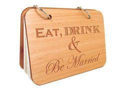 Wedding Recipe Book  Eat Drink & Be Married  by memoriesforlifesb