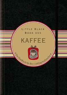 Little Black Book vom Kaffee