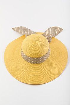 Sunny Polkadot Hat