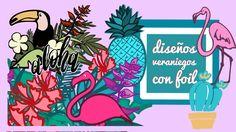 Diseños Veraniegos Con Foil sobre impresión a todo color Tropical, Comic Books, Comics, Poster, Art, Impressionism, Colors, Art Background, Comic Strips