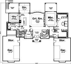 100-1331: Floor Plan Main Level