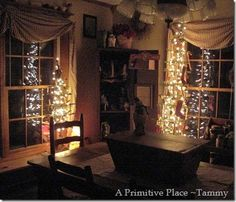 Christmas past. My home.