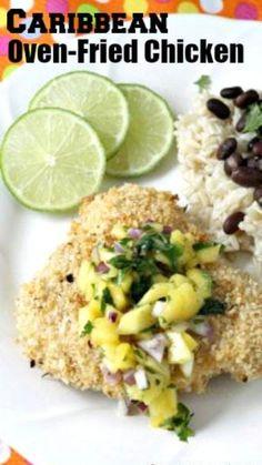 Baked Chicken Recipes, Turkey Recipes, Beef Recipes, Oven Fried Chicken, Easy Baked Chicken, Healthy Eating Recipes, Gourmet Recipes, Healthy Dinners, Healthy Eats