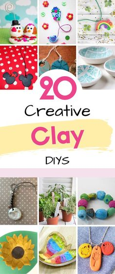 This roundup is all about clay, from FIMO clay to Air drying clay. No matter what the medium all these tutorials can be adapted to suit the clay you are using. As a kid, we all played with play … Read More ...