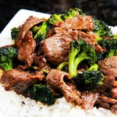 Better Than Takeout Beef and Broccoli __ Tender, thin, juicy slices of beef that are so juicy, so flavorful as they soak up every savory essence of the marinade,and the rich, savory,sauce. BEST I'VE EVER HAD!