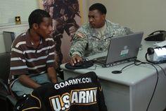 Talking to Army Recruiter
