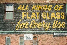 Chicago, old hand painted signs. 5568 by hildagrahnat, via Flickr