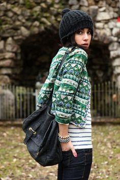 fall style - adorei o casaquinho