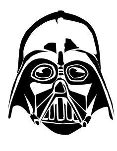 Mask of Darth Vader coloring page kids Pinterest Darth vader