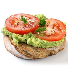 Healthy lunch idea: Avocado Hummus Sandwich.